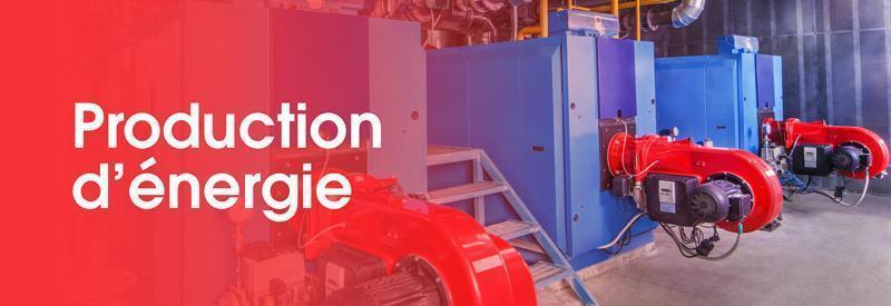 Catégorie production d'énergie - mécanique de machine fixe